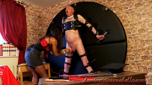 Femdom and Strapon schoolmistress physics biology