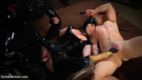 Femdom and Strapon Reservation Cuckold