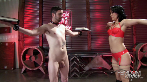 Femdom and Strapon Mrs. Kristina Rose - Kristinas Cruel Ballbusting Game