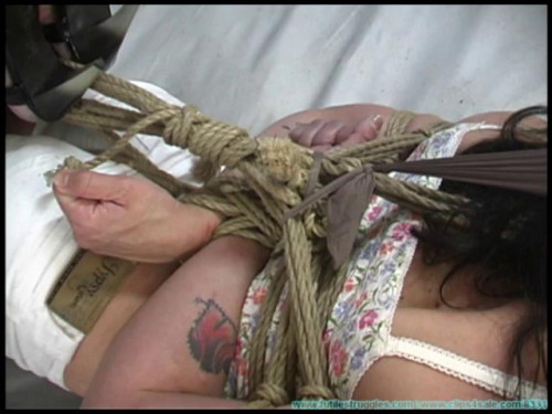 bdsm FS - Betty Jadeds Tight Hogtie