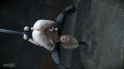 bdsm Petite Sexy Blonde Gets Metal BDSM Treatment