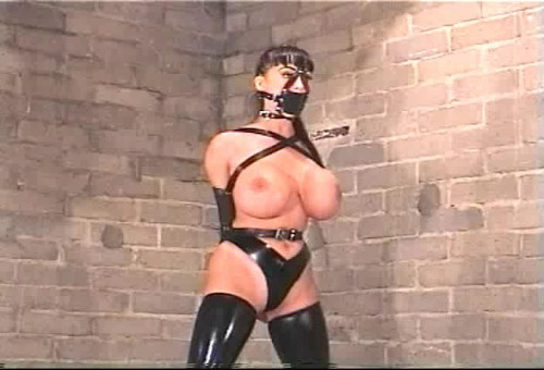 bdsm Latex Bondage Three