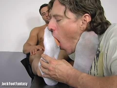 JockFootFantasy  - Dante Worshiped