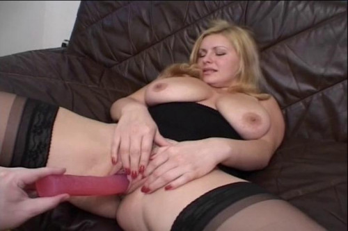 Fisting and Dildo Hot cunt drilling session