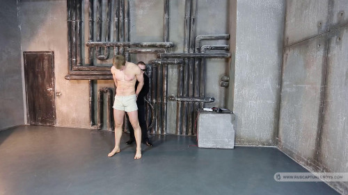 Gay BDSM RusCapturedBoys - Gennadiy - The slave to train - Final Part