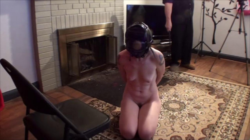 bdsm Natalie Hogtied Hooded Used