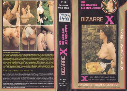 Bizarre X - Ich die Analsau als Fick-Stute - Versautes Privat Arschloch VHS