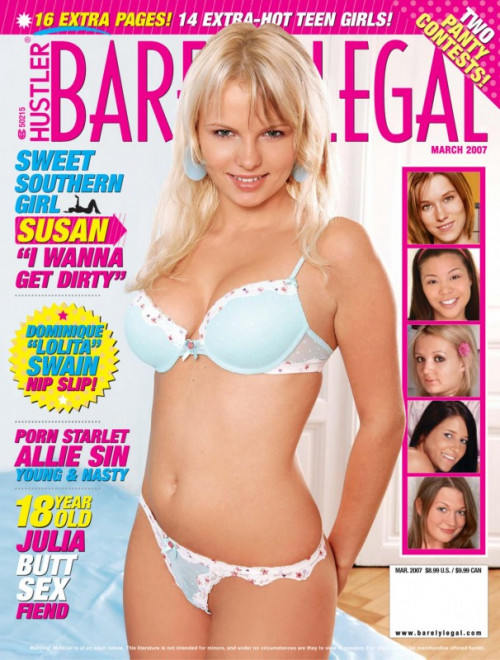 Barely Legal part1 Porn Magazines