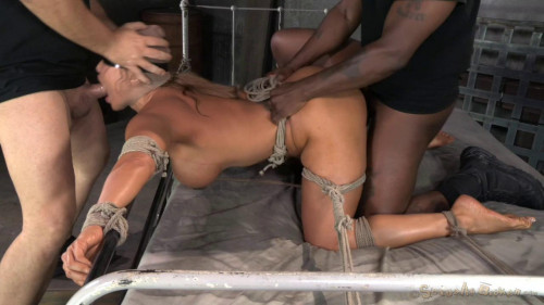 Stunning Veruca James utterly destroyed by cock, brutal pounding, epic deepthroat