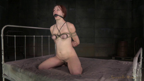 Sexy redhead Violet Monroe strictly bound roughly fucked cock brutal deepthroat! (2015) BDSM