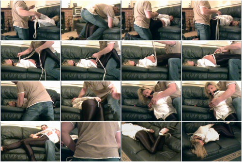 DOWNLOAD from FILESMONSTER: bdsm Alicia in Black Spandex Jeans
