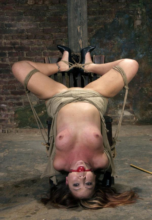 Bitch gets pleasure from pain, and sex BDSM