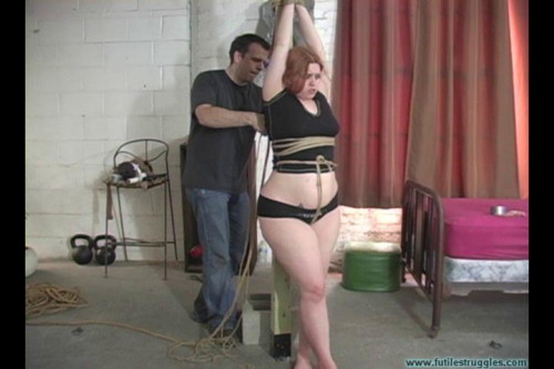 Alectronas Arms Tied Overhead Crotchroped Spread Clamped - Part 1 BDSM