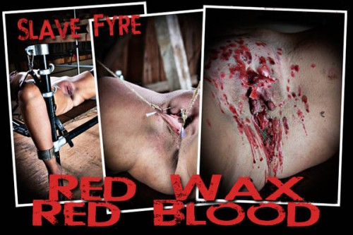 BM Fyre - Red Wax Red sap BDSM