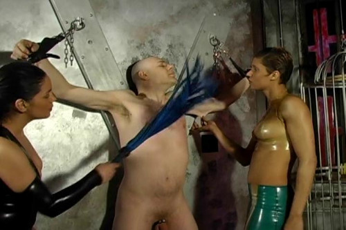 Pleasure Thru Pain 3, scene 1 Femdom and Strapon
