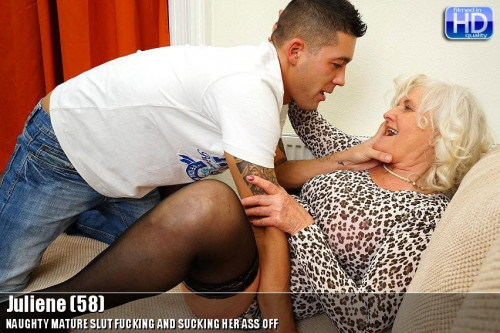 Lustful old woman and a young stud Old and Young