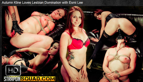 Straponsquad – Jul 08, 2016 – Autumn Kline Loves Lesbian Domination with Esmi Lee