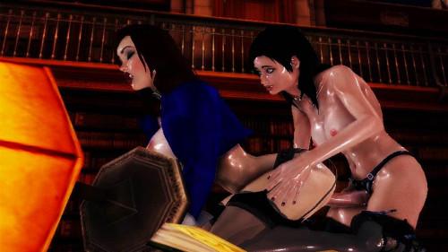 Cock Studies 3D Full HD 3D Porno