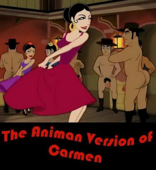 The Animan Version of Carmen Gay Unusual