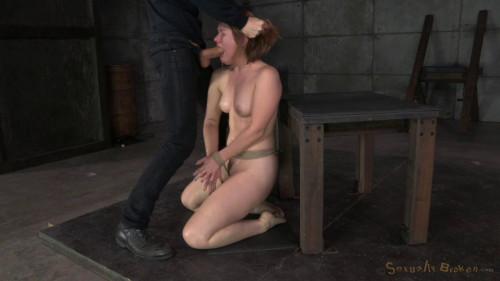 Pale Redhead Claire Robbins...(Feb 2015) BDSM