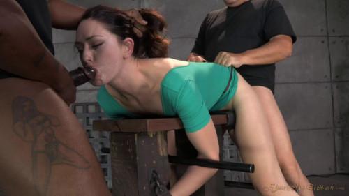 DOWNLOAD from FILESMONSTER: bdsm Sarah Shevon restrained used hard from both ends hard cock drooling brutal deepthroat! (2014)