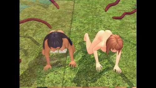 Aitona The Female Warrior 2 3D 3D Porno
