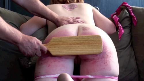 Ginger – pouty redhead's discipline