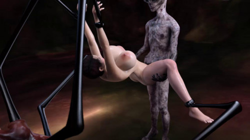 It is gray but in skillful sex 3D Porno