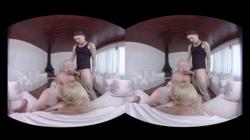 Virtual Real Gay - Posh fucking party Gay 3D stereo
