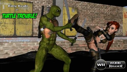 Womb Raider Turtle Head Trouble