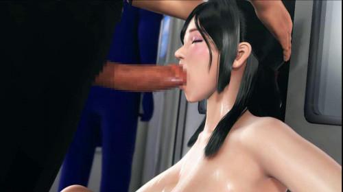 Big tits babe awakening 3D Porn