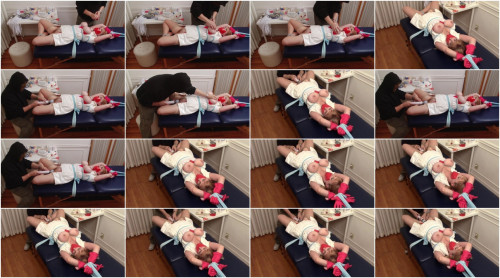 Bound and Gagged – Gagging Nurse Boobie Part 2 – Vibrator Bondage Orgasm for Lorelei