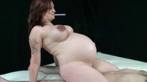 Pregnant smoking girl Lacy King Part Five (2014) Pregnant
