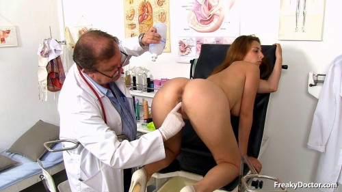 Antonia Sainz (23 years girls gyno exam) 08 Sep 2016