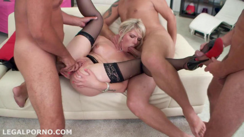 Claudia Mac First DAP Intense DP Great GAPES 4 Dirty Orgies