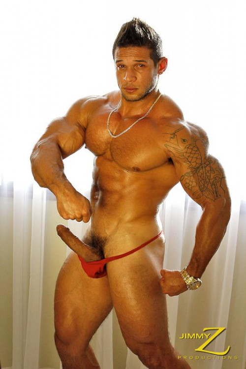JimmyZ - Henrique - Macho Muscle Gay Solo