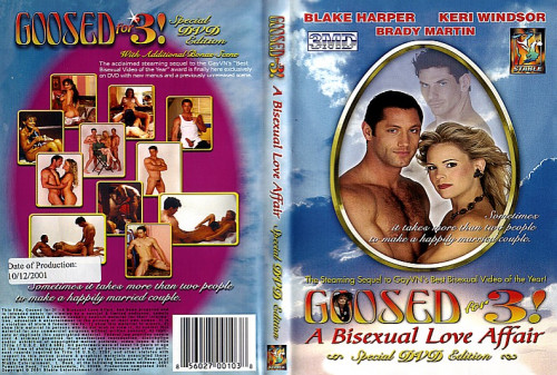 Goosed For vol.3! A Bisexual Love Affair Bisexuals