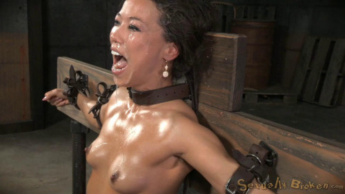 DOWNLOAD from FILESMONSTER: bdsm Natural born sexbot Kalina Ryu throatboarded into drooling deepthroat