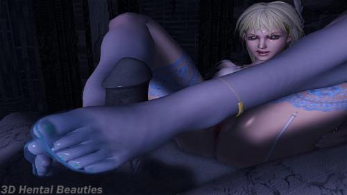 Holy Feet 3D Porno