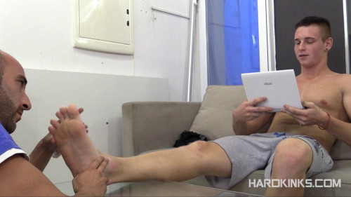 Hardkinks - Str8 Master Flatmate - Kalel, Tyler Roding Gay BDSM