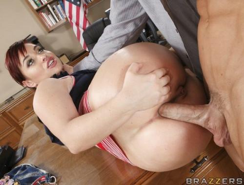 Redhead Girl Needs Her Big Ass Inspected