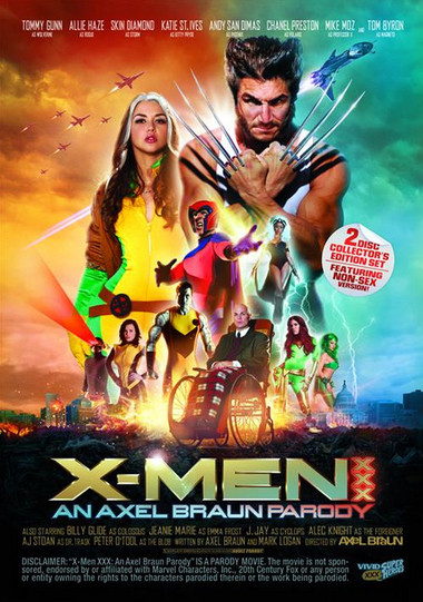 DOWNLOAD from FILESMONSTER: full length films X Men XXX an Axel Braun Parody