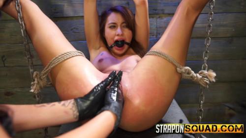 Marina Angel Endures Lesbian Domination Threesome with Esmi Lee and Abella Danger