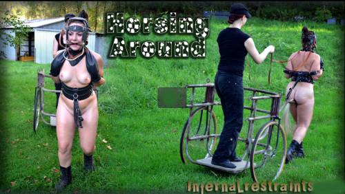 Infernalrestraints - Jan 6, 2012 - Horsing Around - Sasha BDSM
