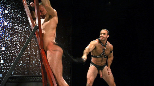 Brad Kalvo and Jessie Colter - Loud and Nasty - Scene 2 Gay BDSM