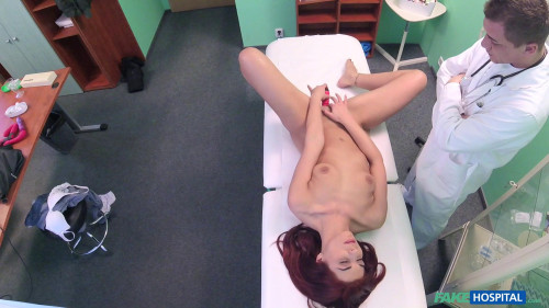 Jessica Red - Dildo and Cock Squeezed into Pussy (2017) Hidden camera