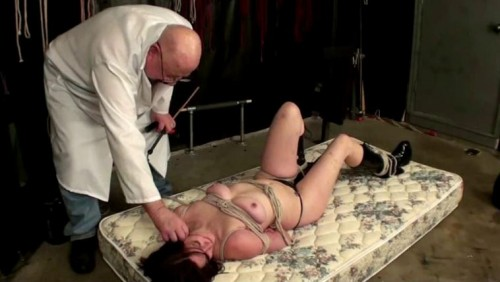 TB - Tony First Caning Part 1 BDSM