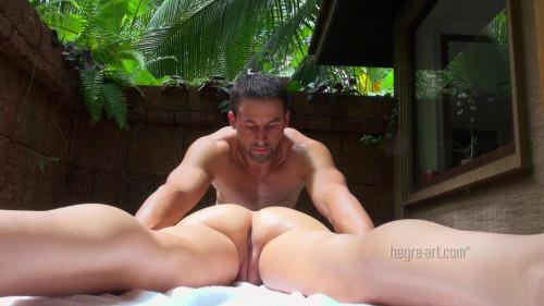 Male-Female Naturist Massage-1800p Sex Massage