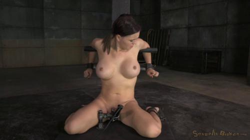 SexuallyBroken - Jan 14, 2015 - Sexy girl next door Krissy Lynn bound in strict device bondage BDSM