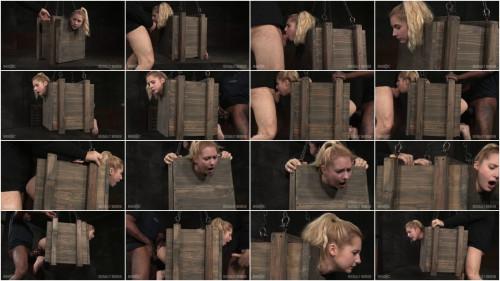 SexuallyBroken – Mar 18, 2016 – Tiny blonde Odette Delacroix bound inside a box